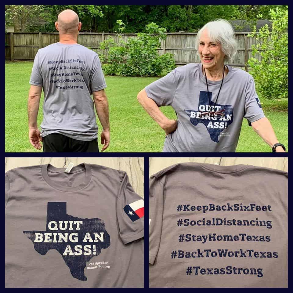 """""""Quit Being An Ass"""" T-shirt"""