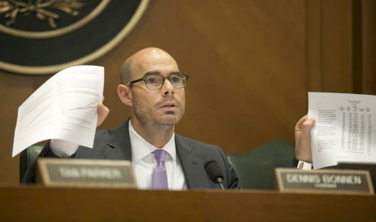 We are cautiously optimistic about Texas' next speaker, Dennis Bonnen, with the emphasis on 'cautious'