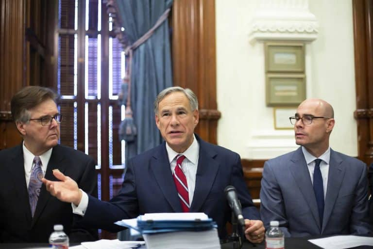Gov. Greg Abbott, other Texas leaders want to freeze property tax revenues for cities that cut police budgets