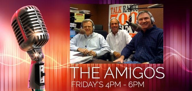 The Amigos: KSEV Radio
