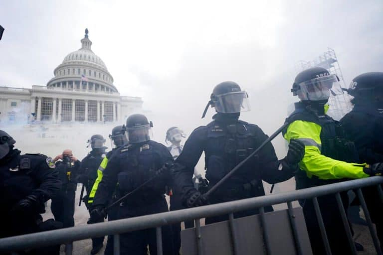 'Assault on our democracy': Texas leaders make plea for unrest to stop at US Capitol