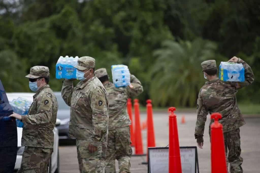 Lake Jackson residents adjust as process of purging water containing brain-eating amoeba begins 7
