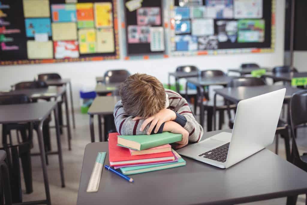 Tired Schoolboy 2020